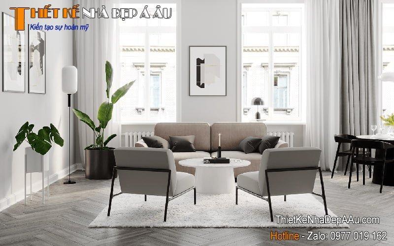trường phái thiết kế nội thất Scandinavian Modern Interior Design