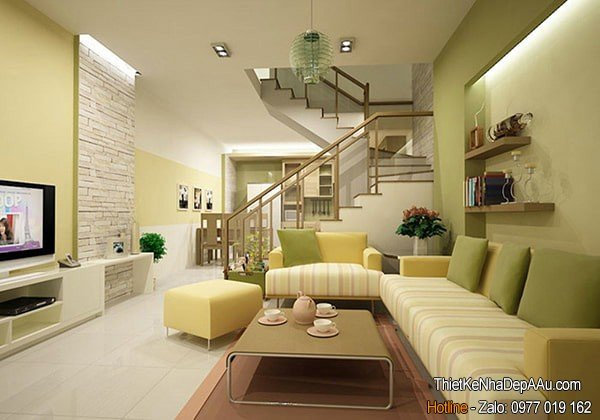 trang trí hoàn thiện nội thất nhà ống