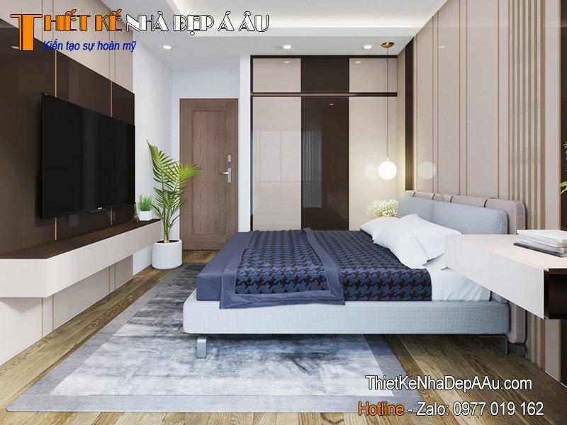 mẫu phòng ngủ 12m2 đẹp