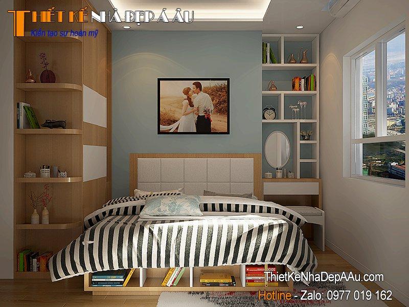 mẫu phòng ngủ 8m2