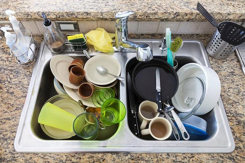 Vệ sinh nhà bếp sạch sẽ hằng ngày