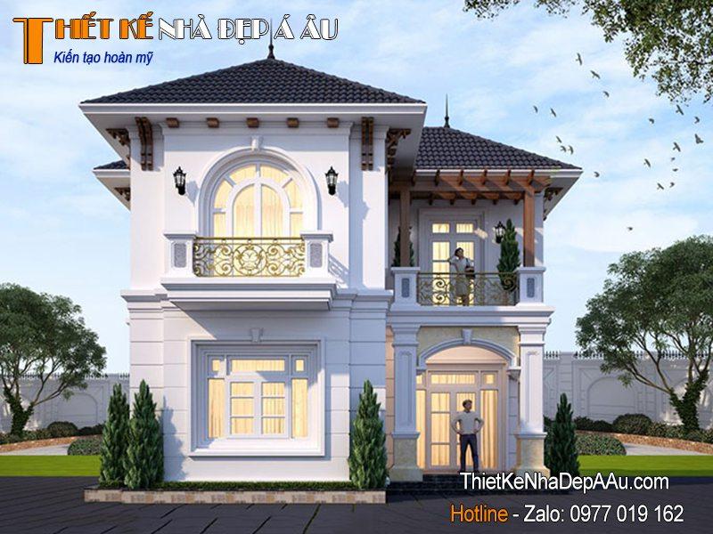nhà đẹp kiến trúc pháp