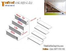 Cách tính bậc cầu thang
