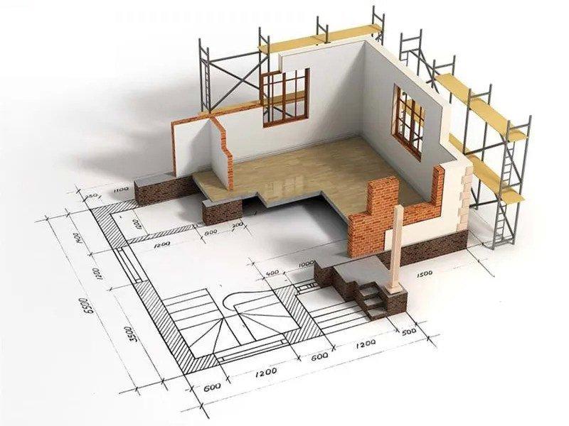 Công thức tính diện tích nhà ở dân dụng áp dụng mới nhất
