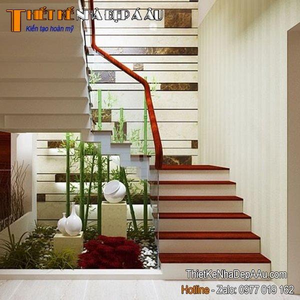 cầu thang kính