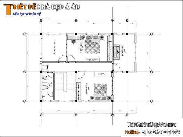 Cách bố trí phòng công năng diện tích sàn 100m2