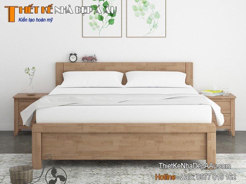 giường ngủ gỗ HDF