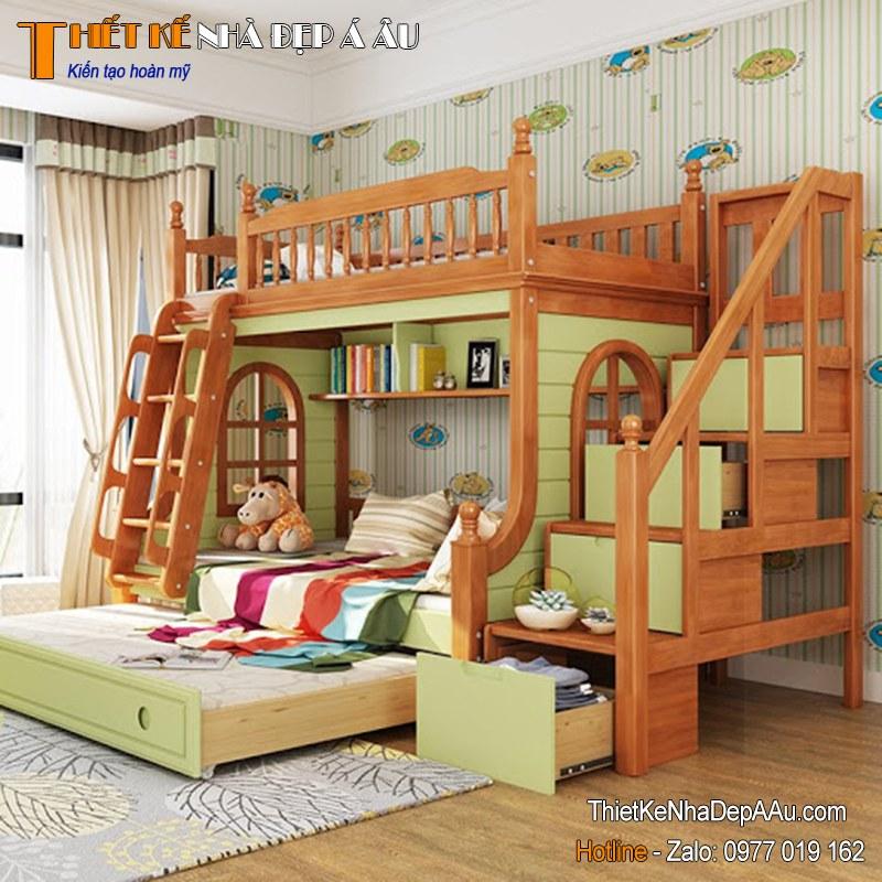 giường tầng trẻ em thông minh