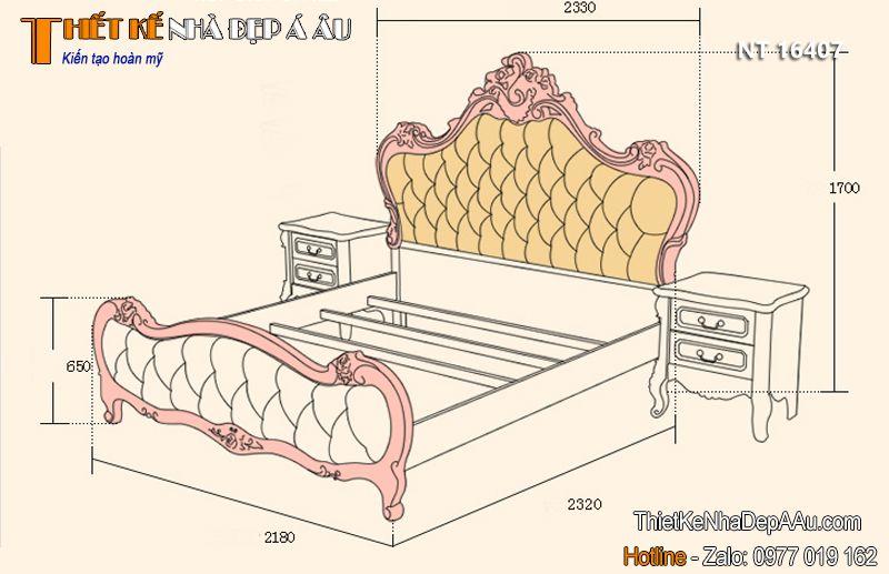 kích thước giường king size