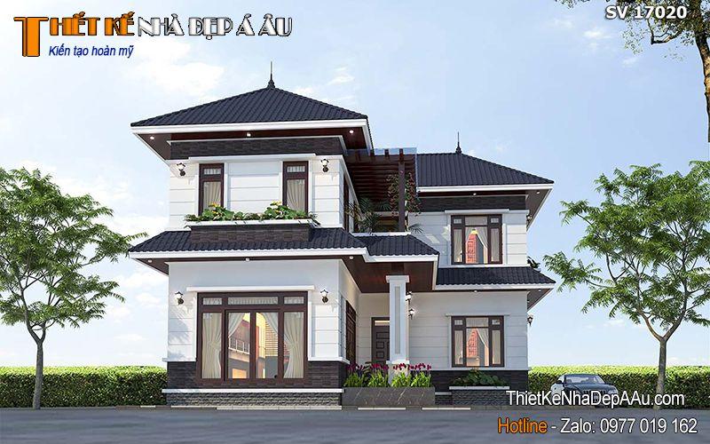 Mẫu thiết kế nhà đẹp 2020