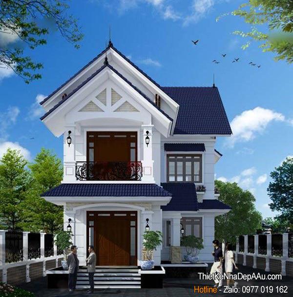 Ngôi nhà đẹp với chi phí xây dựng rẻ