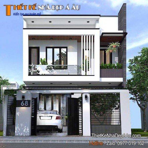 nhà phố hiện đại