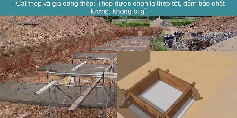 thi cong mong don