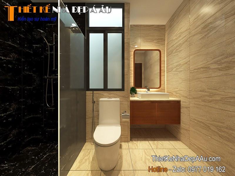 trang trí nội thất phòng tắm