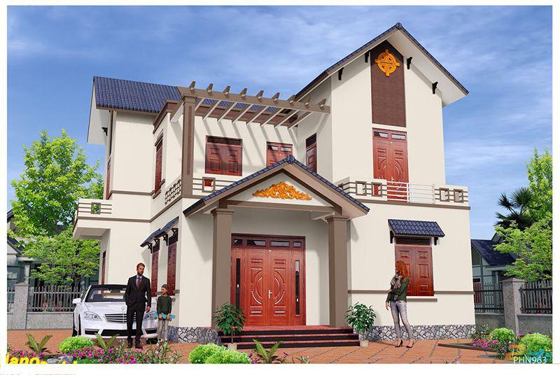màu sơn nhà đẹp 2021
