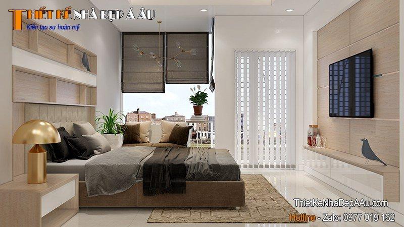 phòng ngủ thiết kế nhiều ánh sáng