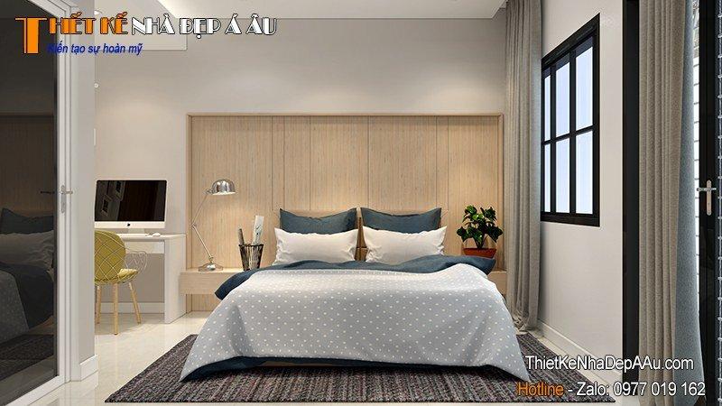 trang trí nội thất phòng ngủ không gian mở