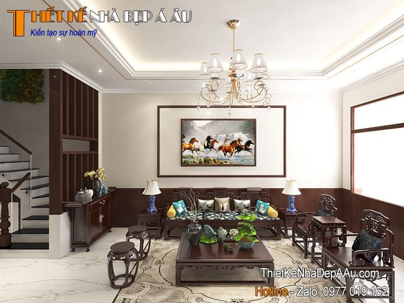 trang trí không gian nội thất phòng khách hiện đại