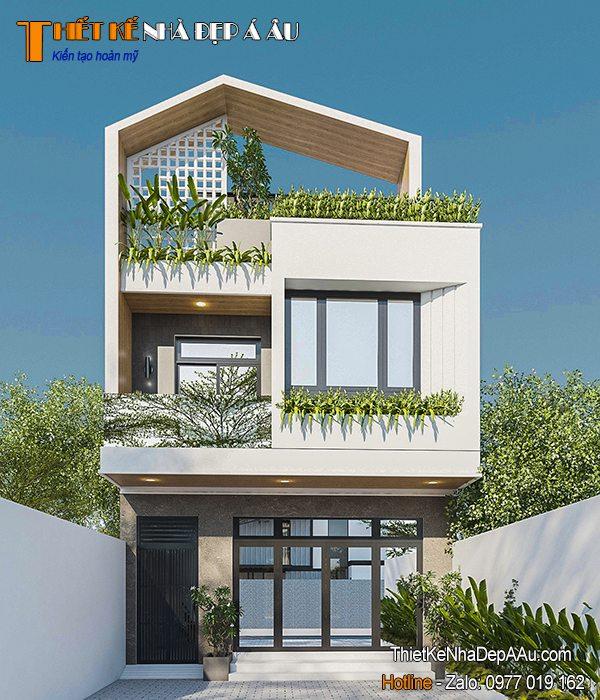 Ngôi nhà đẹp kiến trúc xanh
