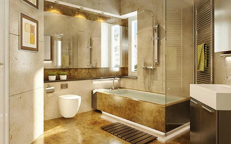 Nhà tắm có diện tích lớn