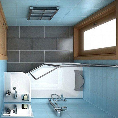 nhà vệ sinh nhỏ xinh tiện nghi