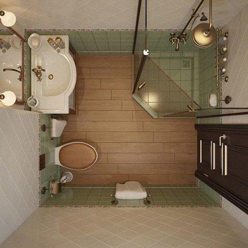 Nhà vệ sinh nhỏ đầy đủ tiện nghi