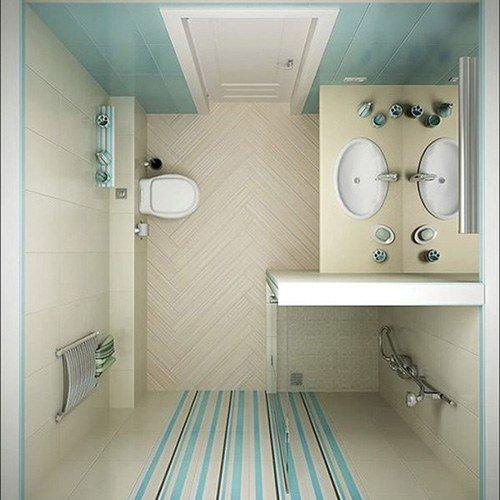 Mẫu nhà vệ sinh 4m2