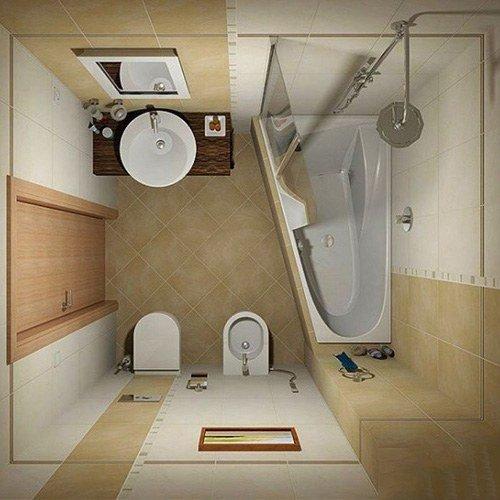 Nhà vệ sinh 3m2