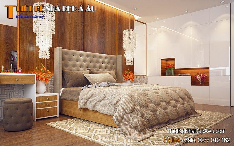 nội thất phòng ngủ gỗ tự nhiên