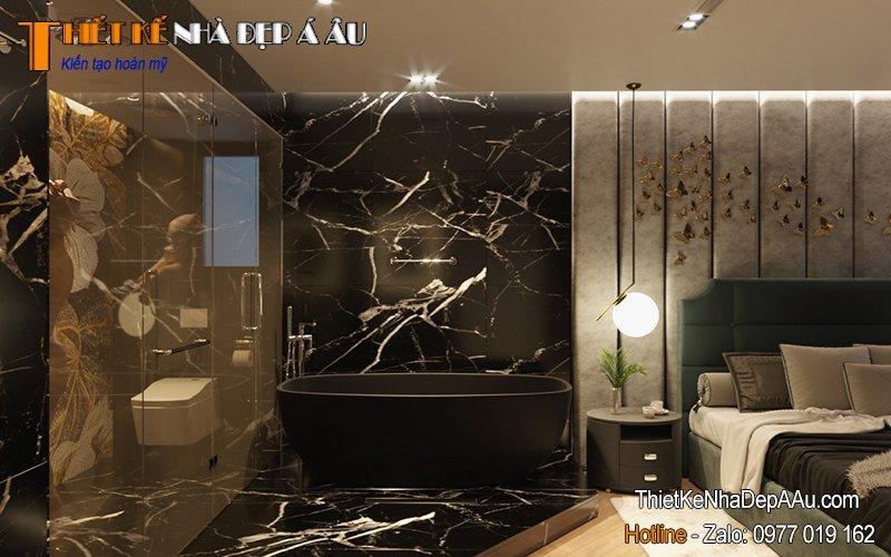 trang trí phòng ngủ sử dụng nội thất hiện đại bậc nhất