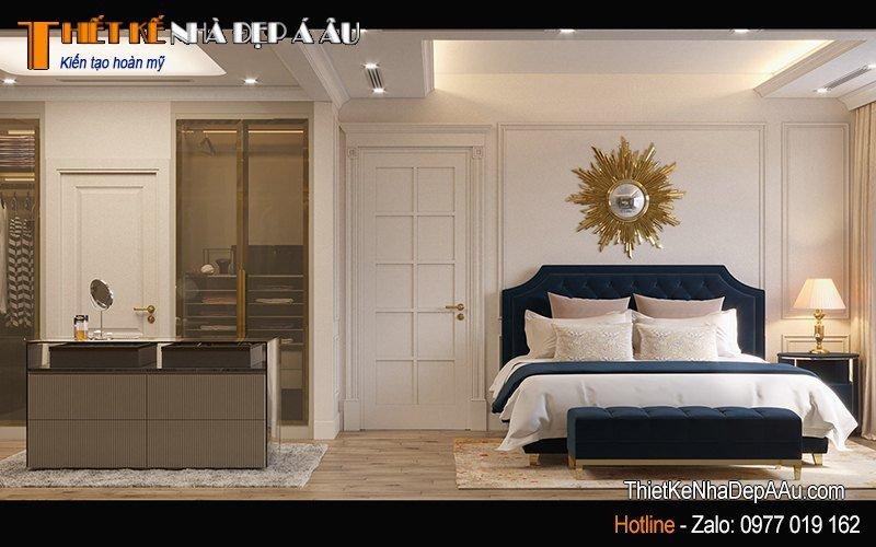 giường ngủ đặt ở nơi có ánh sáng tự nhiên