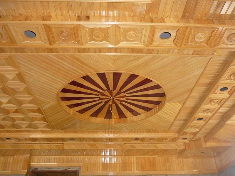 trần gỗ công nghiệp