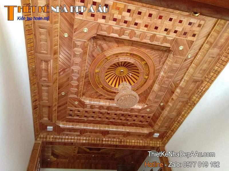 trần gỗ