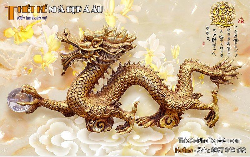 tranh ngọc thạch rồng
