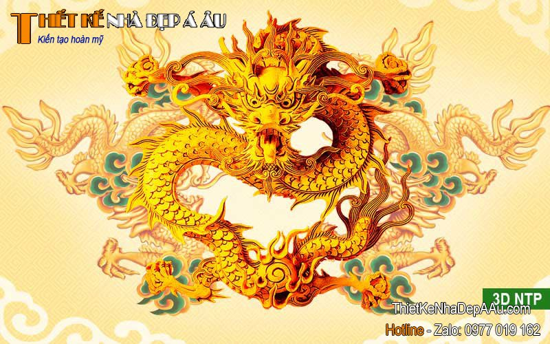 Tranh rồng vàng trong truyền thuyết
