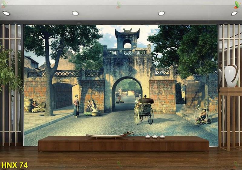 tranh phố hà nội xưa hợp năm sinh 1947 đinh hợi