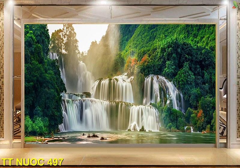 tranh thác nước hợp năm sinh 1959 kỷ hợi mệnh mộc