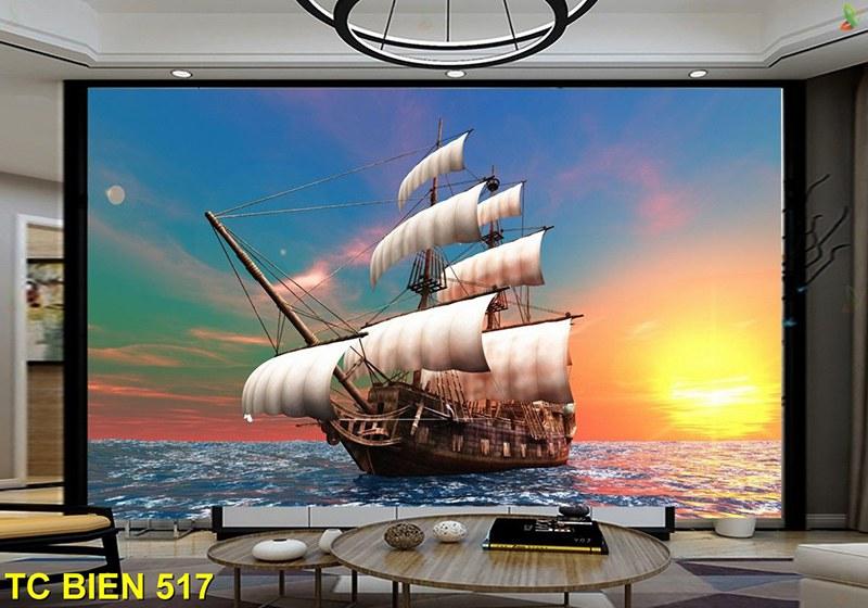 tranh thuận buồm xuôi gió hợp năm sinh 1959 kỷ hợi mệnh mộc