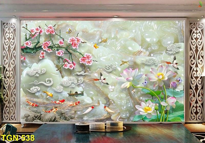 tranh cá chép hợp năm sinh 1971 tân hợi mệnh kim