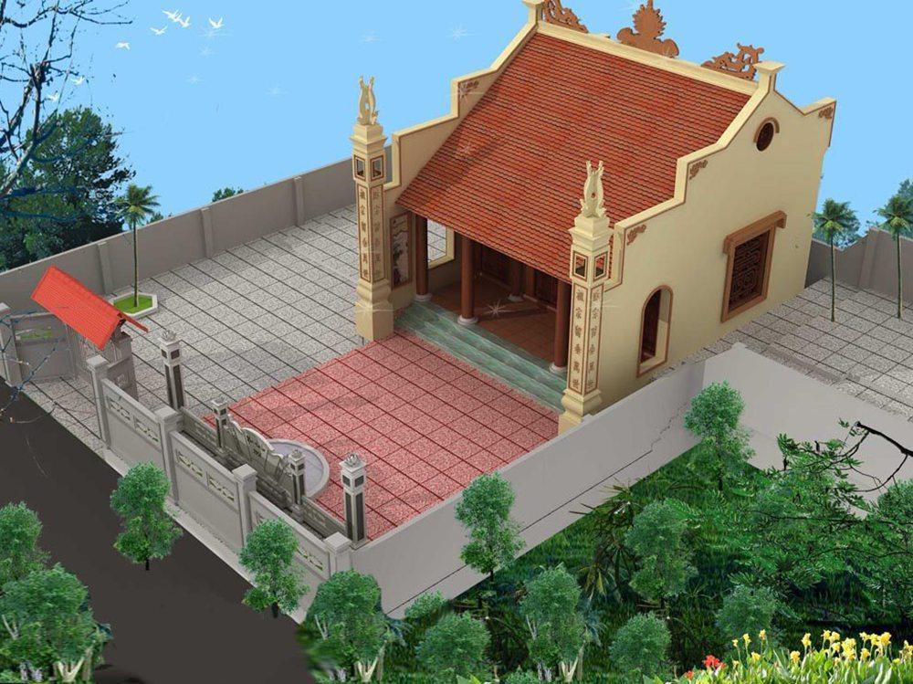 thiết kế nhà thờ họ