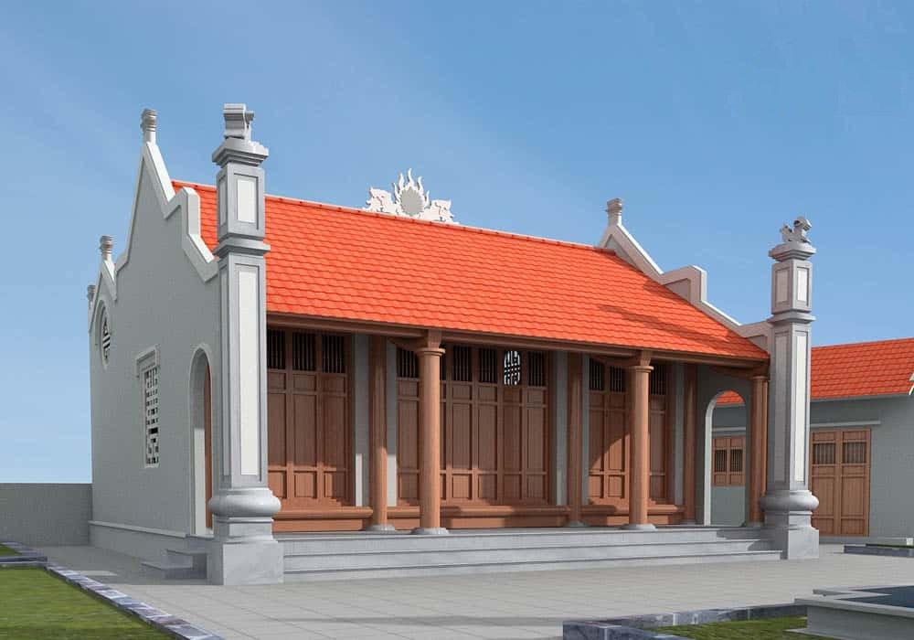 công trình nhà thờ dòng họ