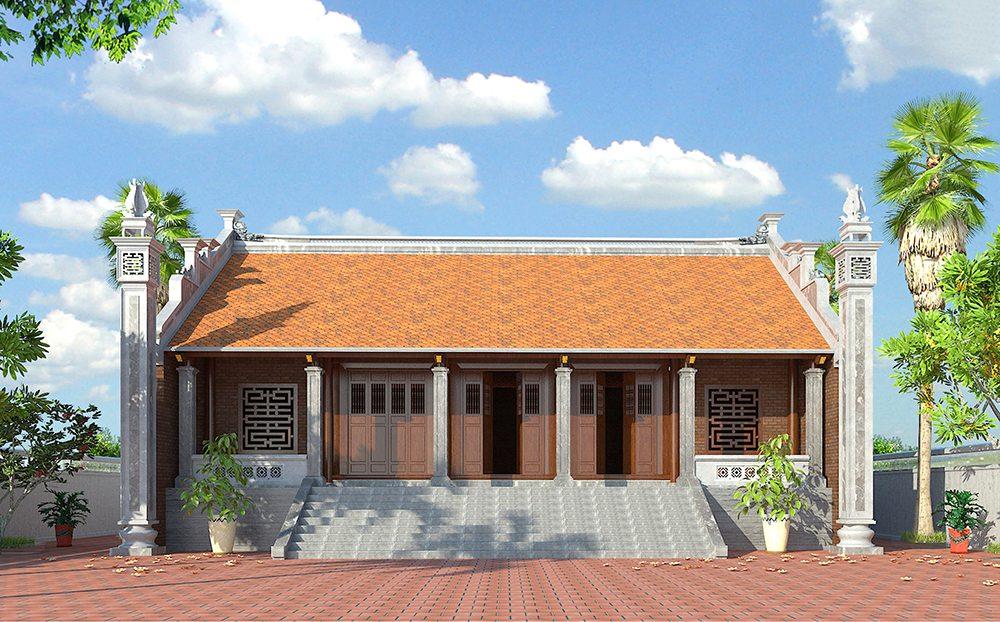 Mẫu nhà ở thờ tự