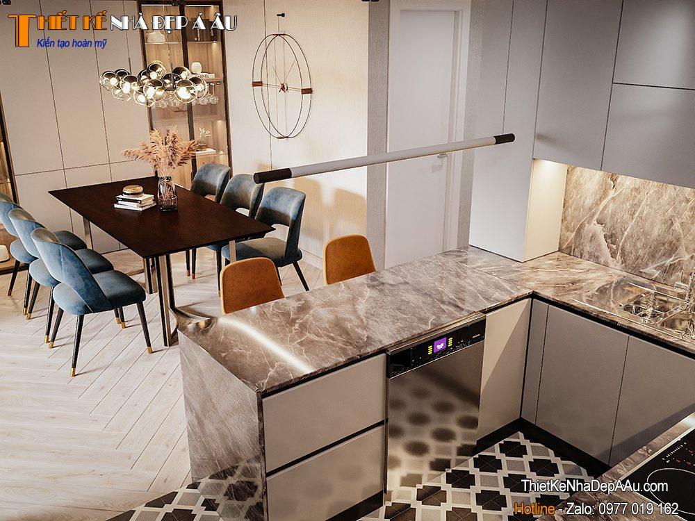 Trang trí nội thất căn hộ chung cư hiện đại