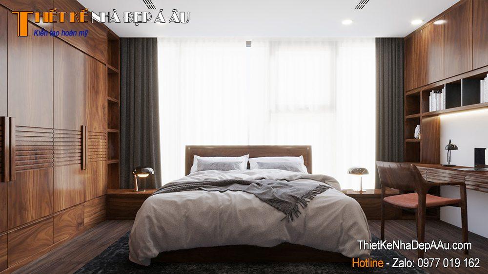 Thiết kế nội thất căn hộ 110m2