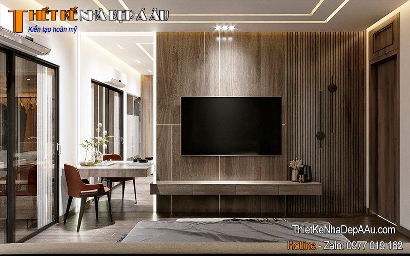 Tủ tivi treo tường tối ưu không gian