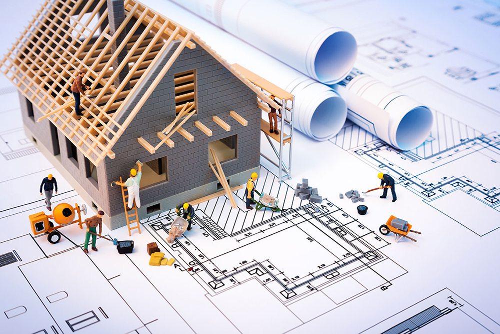 diện tích xây dựng