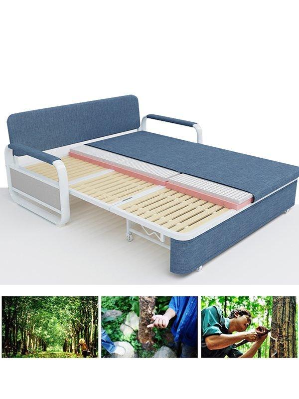 Sofa giường được làm từ gỗ tự nhiên