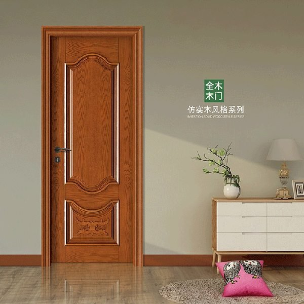 cửa chất liệu gỗ tự nhiên