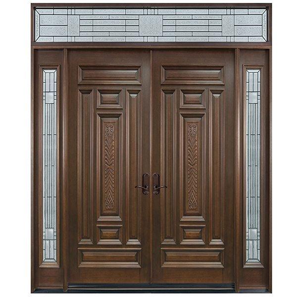 cửa gỗ pano kính