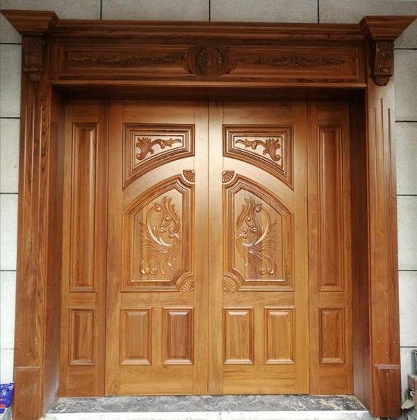 cửa gỗ pano đặc